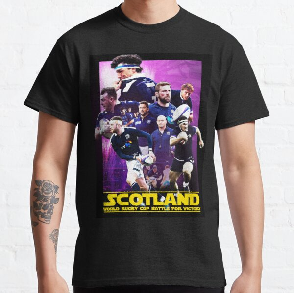 Movie poster style Scotland Rugby Team Classic T-Shirt