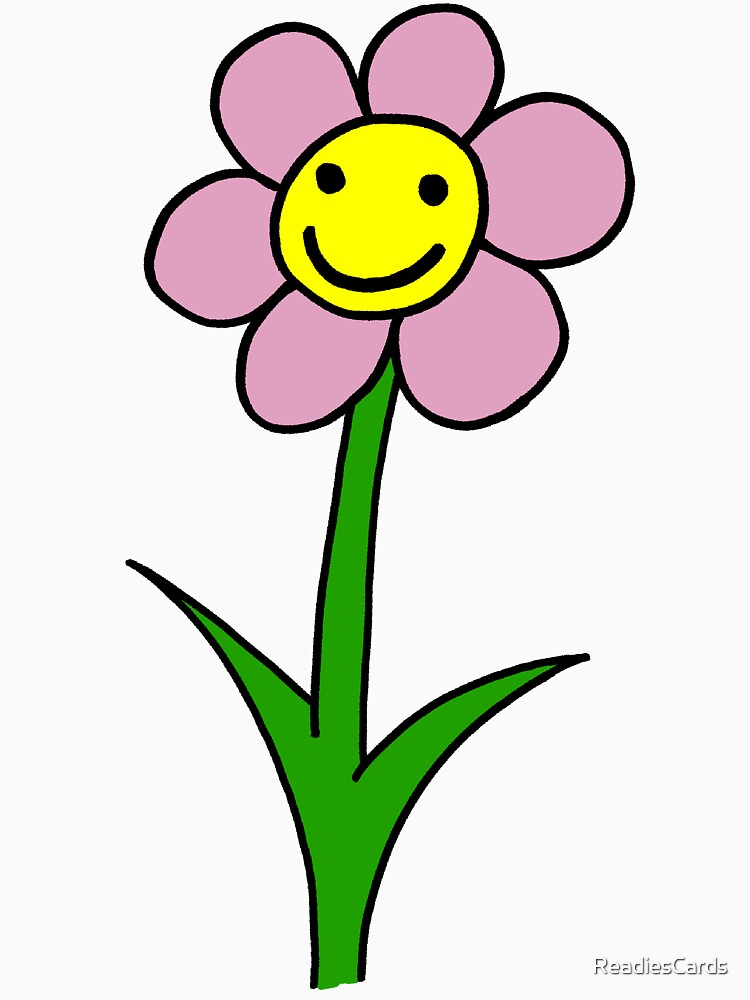 Happy Smiling Flower