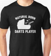 Natural Born Darts Player T-Shirt