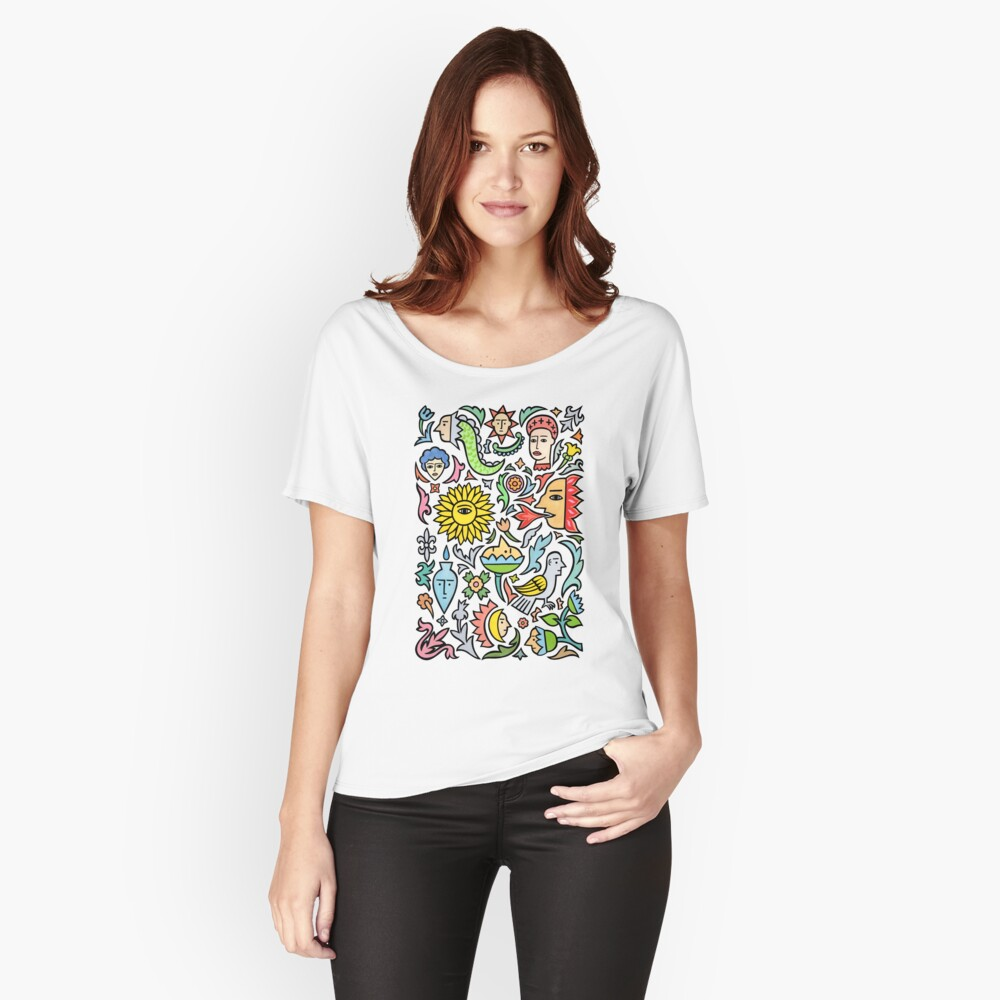 A bird among the other stuff Relaxed Fit T-Shirt