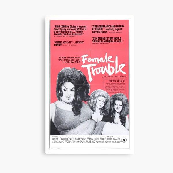 Female Trouble Canvas Print