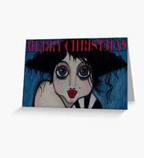 Tullulah / Merry Xmas Greeting Card