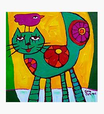 THE  LOVE  CAT  Photographic Print