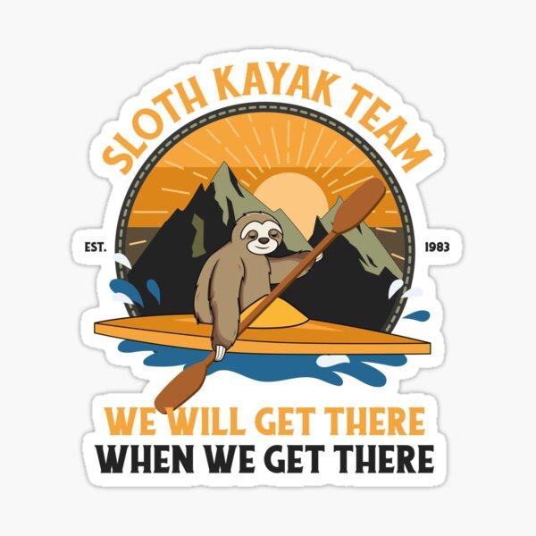 Sloth Kayaking, Sloth Kayak Team Sticker
