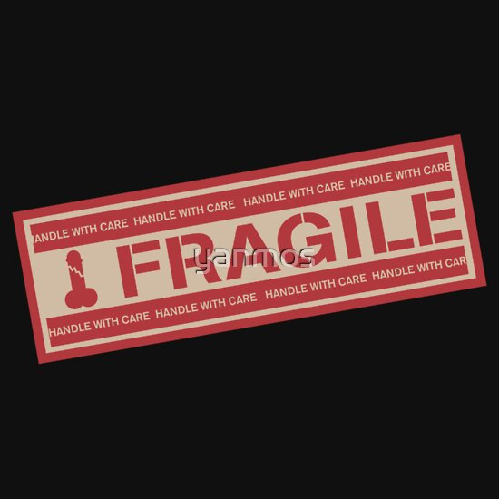 TShirtGifter presents: FRAGILE