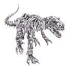 Steampunk T-Rex by betsystreeter