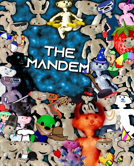 The Mandem Bear Poster By Cheedaman Redbubble