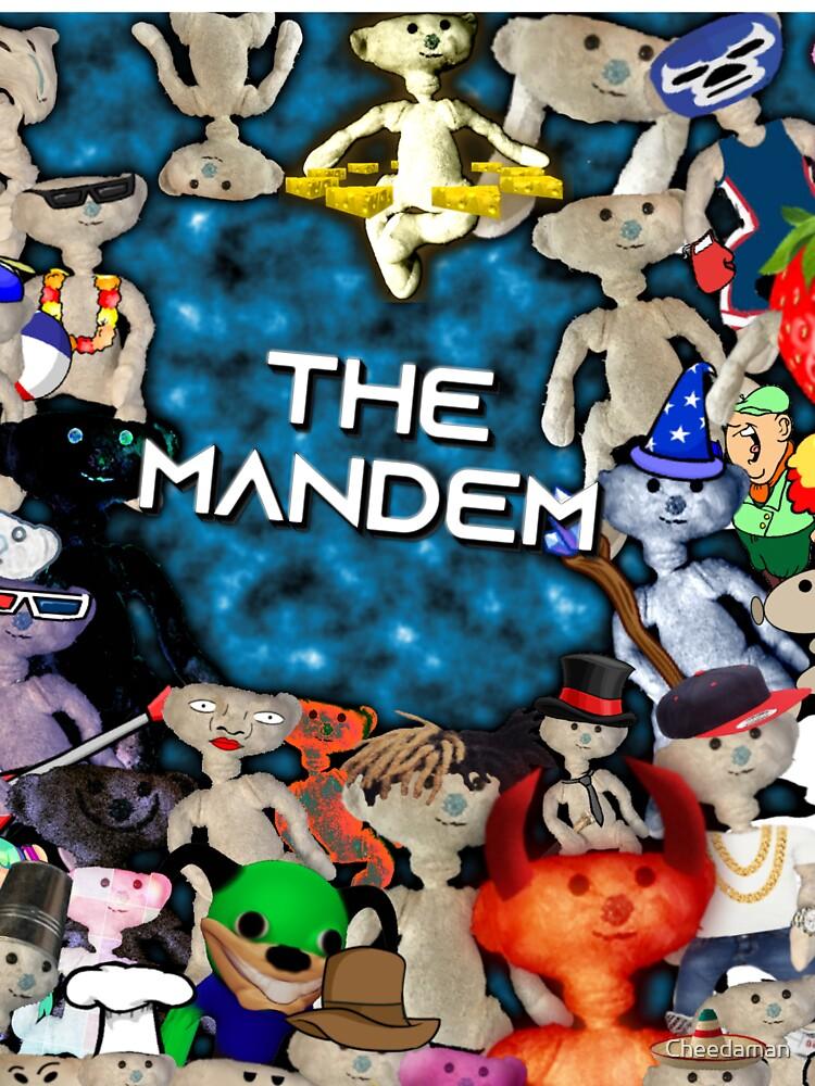 The Mandem Bear Kids T Shirt By Cheedaman Redbubble