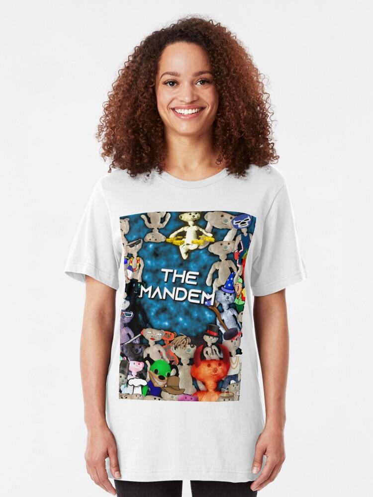 The Mandem Bear T Shirt By Cheedaman Redbubble