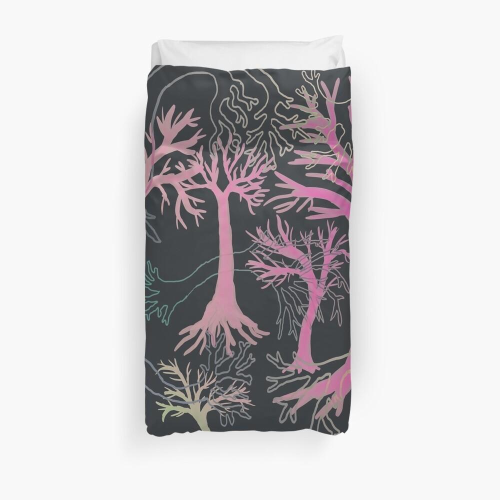 Neon Forest Duvet Cover