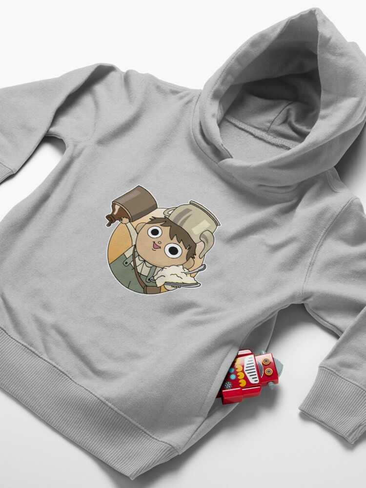 Alternate view of Potatoes and Molasses Toddler Pullover Hoodie