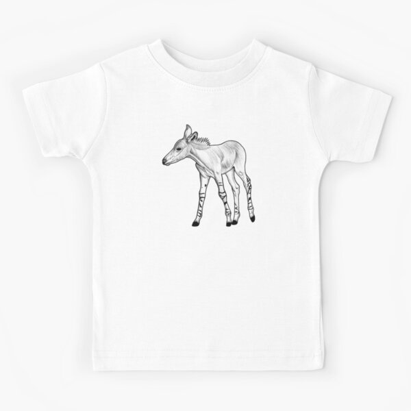 Somali Wild Ass Foal Kids T-Shirt
