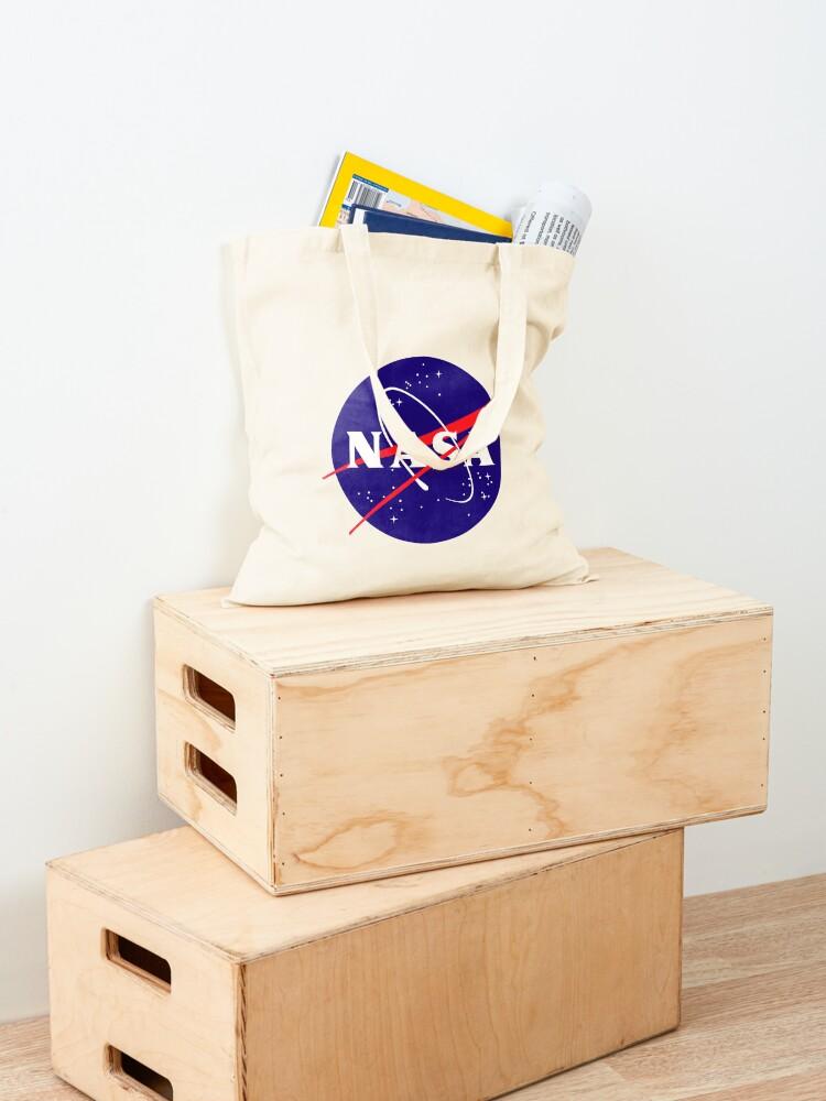 Alternate view of Official NASA (meatball) Logo Tote Bag