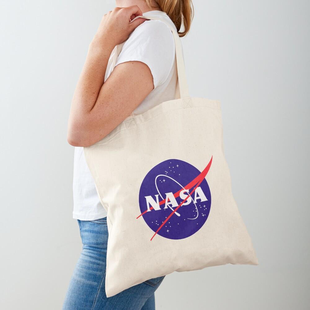 Official NASA (meatball) Logo Tote Bag
