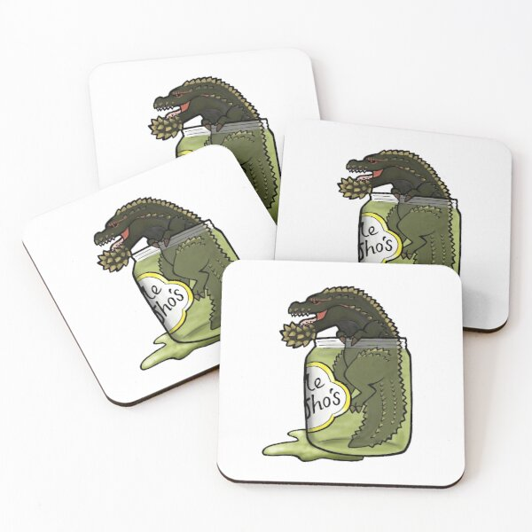 The Terrifying PickleJho Coasters (Set of 4)