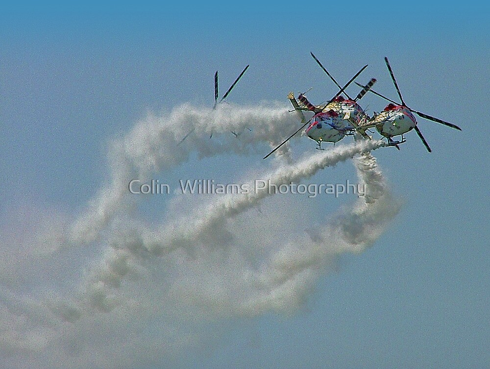 Smoke On!........... Break !.........Hold Breath !!!! by Colin  Williams Photography