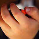 Little Boy's Hand by vbk70