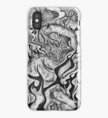 Beowulf and the Dragon iPhone Case
