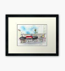 Restaurants on Balboa Framed Print