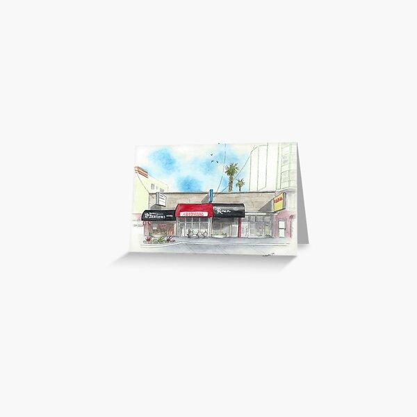 Restaurants on Balboa Greeting Card