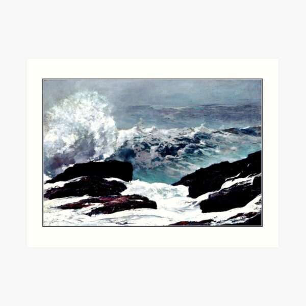 Homer - Maine Coast Art Print