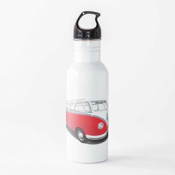 Van in red Water Bottle