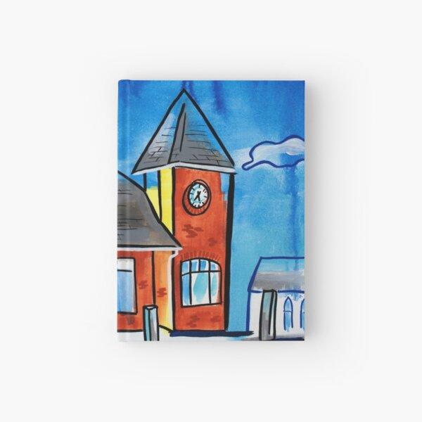 Train Stop - Kentville Nova Scotia Hardcover Journal