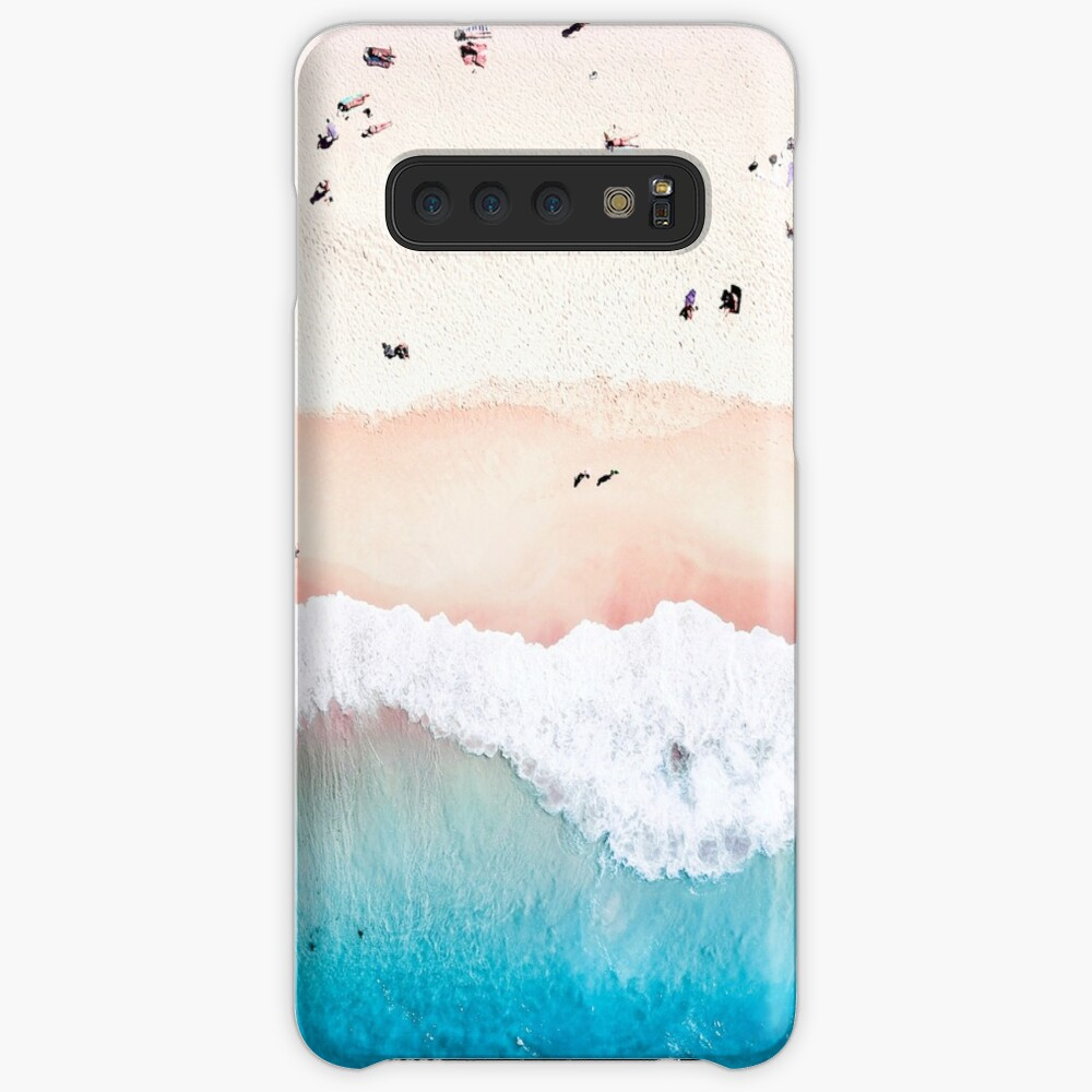 Aerial Sandy Beach Case & Skin for Samsung Galaxy
