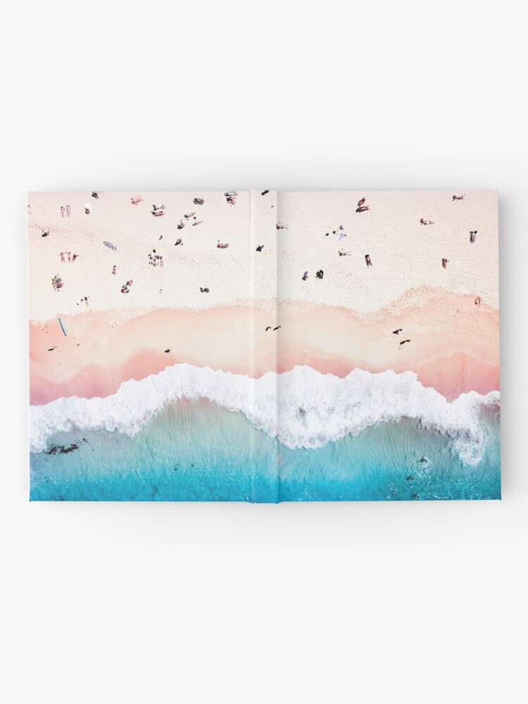 Alternate view of Aerial Sandy Beach Hardcover Journal