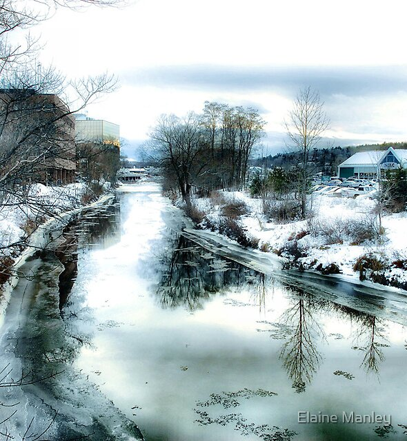 Along the River by Elaine Manley