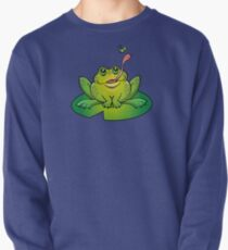 Froggy Catching Dinner Pullover