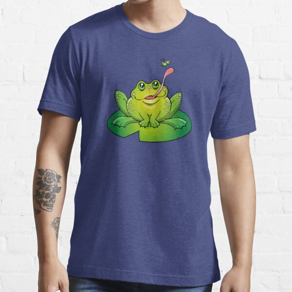 Froggy Catching Dinner Essential T-Shirt