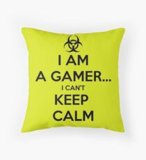 I Can't Keep Calm. Throw Pillow