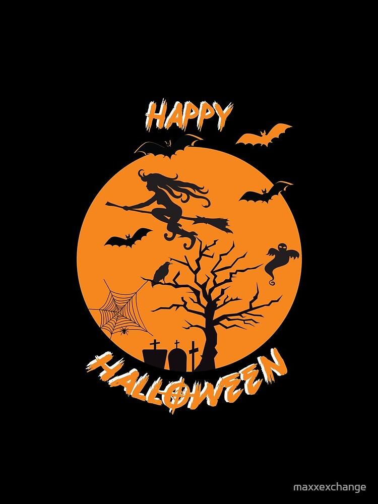 Spooky Scene Halloween Scene Scary Scene Tree. by maxxexchange