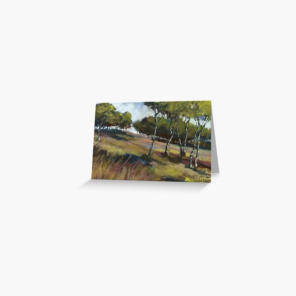 Birch Trees, Hathersage Moor Greeting Card