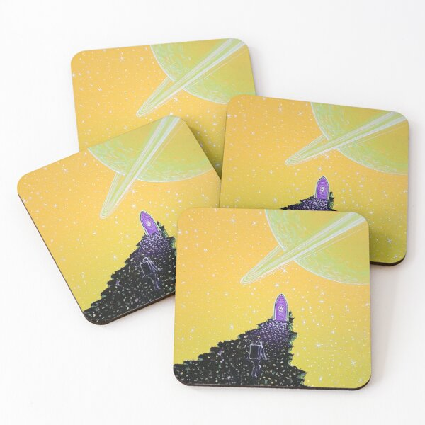 Where the Wild Rings Are Coasters (Set of 4)