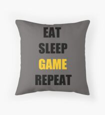 Game. Throw Pillow