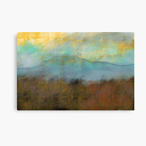 Higger Tor in Autumn - Peak District landscape Canvas Print