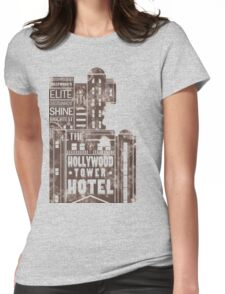 Tower of Terror  (distressed edition) Womens Fitted T-Shirt