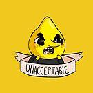 Unacceptable !! by lunaticpark