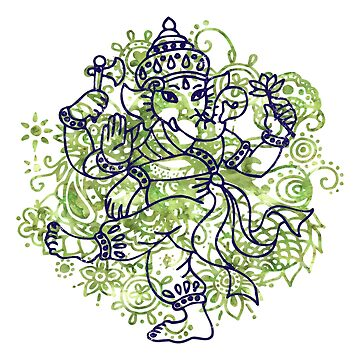 Ganesha India Elephant God by FamilyT-Shirts