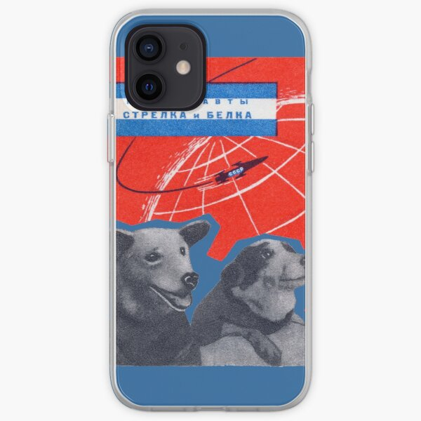 1960 Space Dogs Strelka and Belka iPhone Soft Case