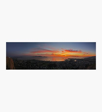 Townsville Sunrise - From Castle Hill Photographic Print
