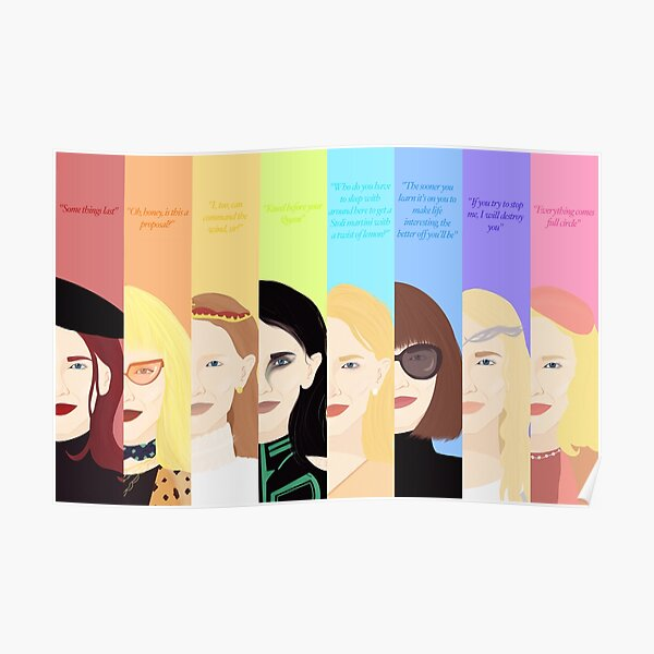 Cate Blanchett - Beste Charaktere Poster