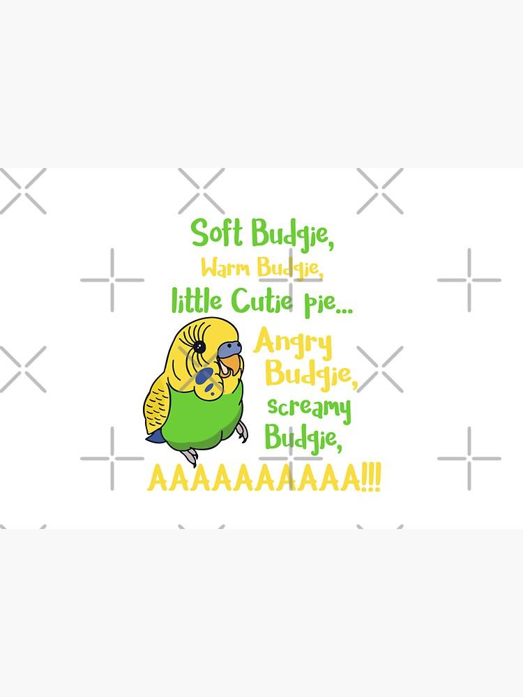 angry budgie, screamy budgie, AAAAAAAAAAAAAAA by FandomizedRose