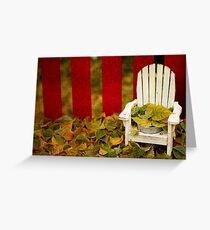 Guess It's Time To Rake The Leaves... Greeting Card