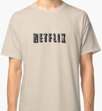 Floral Netflix  Classic T-Shirt