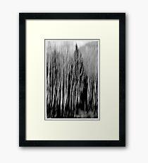 Blurred  Framed Print