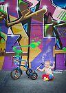 Pinup Bike Polo Cutie #7 by Jennifer Kutzleb
