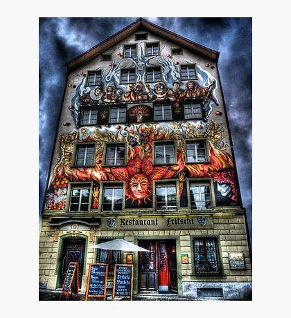 Where Wizards Dine (aka Restaurant Fritschi) Photographic Print